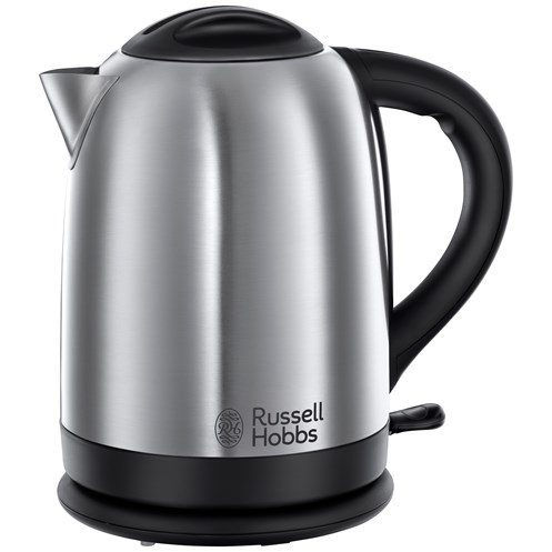 Russell Hobbs  Oxford Brushed Steel Cordless Kettle - 1.7 Litre