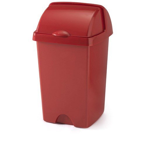 Addis  Roll Top Bin Roasted Red - 24 Litre