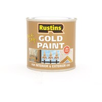 Rustins  Quick Dry Gold Paint - 250ml