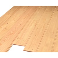 Picton  Red Deal 7mm Tongue & Groove Cladding Plain