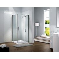 Flair Slimline Capella Pivot Door 800mm