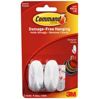 3M Command Hanging Hooks - 2 Pack