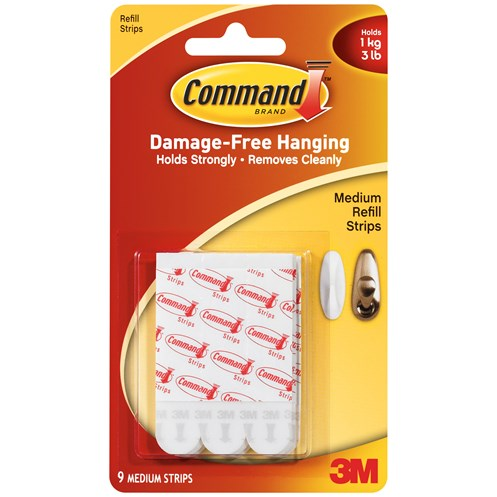 3M Command Picture Hanging Strips - Medium