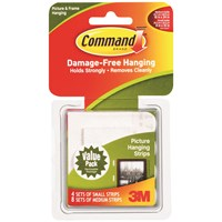 3M Command Combo Picture Hanging Strips