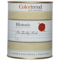Colortrend  Historic Antique Eggshell Colours Paint - 1 Litre