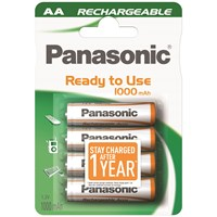 Panasonic  Rechargeable Batteries - AA