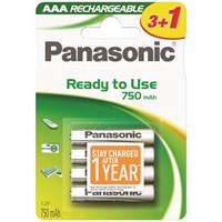 Panasonic  Rechargeable Batteries - AAA