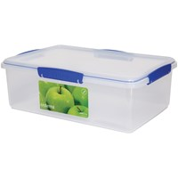 Sistema Klip It Rectangular Food Storage Box Clear - 7 Litre